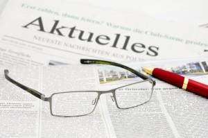 Aktuelles Zeitung Brille