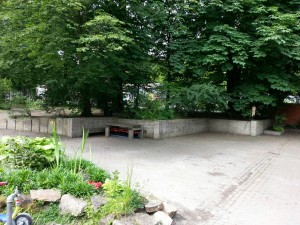 20 mtr. Mauer