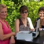 Kritina Steffens, Magda Helpa, Ina Rebenschütz-Maas