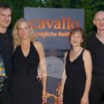 Tango-Ensmeble Isabelle van keulen, INa rebenschütz-Maas (Crossover-Marketing) und Karin Fourier (FinV)