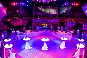 FunPark - Disko Fun auf dem EXPO-Gelände Hannover Veranstaltung Microsoft After Work Party Lasershow - Party - Feiern - Vibe Club - CeBit - Messe © Tobias Wölki  |  Fotograf