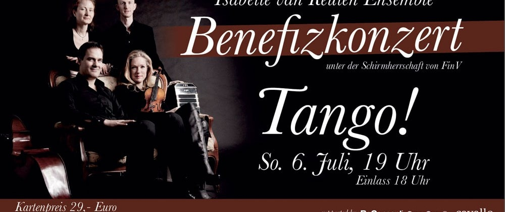 Kultur-Projekt mit dem Tango-Ensemble von Isabelle van Keulen