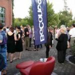 Konzert-Supporter BoConcept präsentierte sich