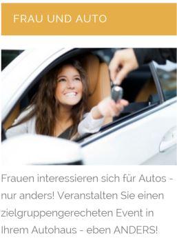 Frau + Auto